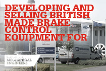 Developing and Selling British Made Brake Control Equipment for Global Markets