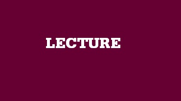 Sir Hugh Ford Management Lecture