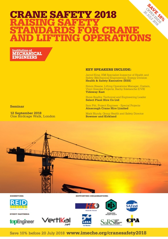 Crane Safety 2018 Raising Safety Standards For Crane And