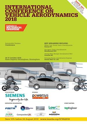 International Conference on Vehicle Aerodynamics 2018