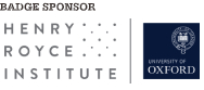 Badge Sponsor - Henry Royce Institute
