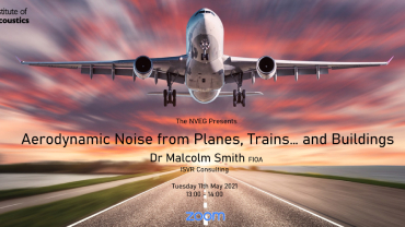 Supported Event: Aerodynamic Noise from Planes, Trains and Buildings